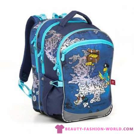 The first bag: how to be a pack for first graders? »Fashion