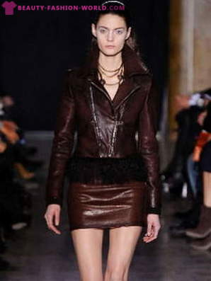 What to wear skirts, leather jackets?