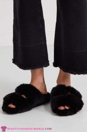 Fur items that can be worn now