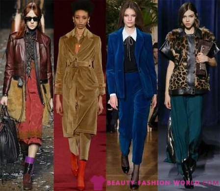 Fashion trends Autumn-Winter 2018-2019