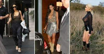 22 times when Kim Kardashian was more naked than dressed