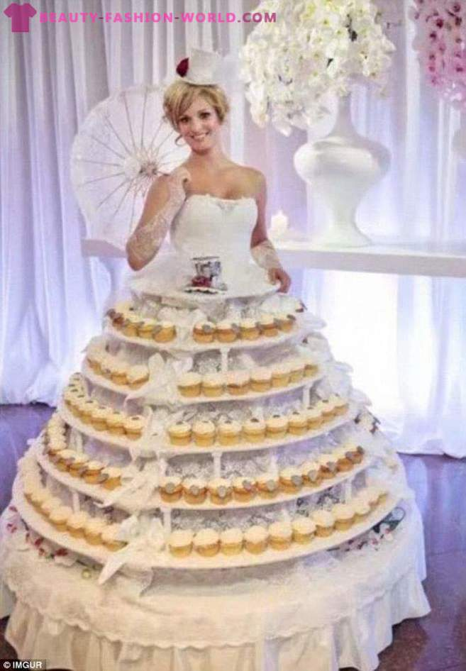 20 brides who want to be at the wedding of the most unique, but something went wrong ...