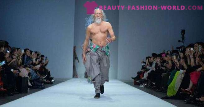 80-year-old male model from China