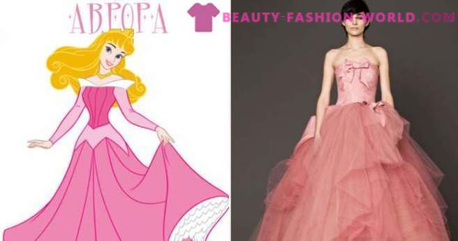 Top 10 Wedding Dress in the style of the Disney princesses