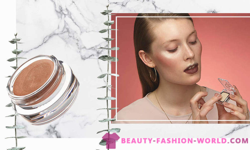 Look languishing: how to apply eyeshadow