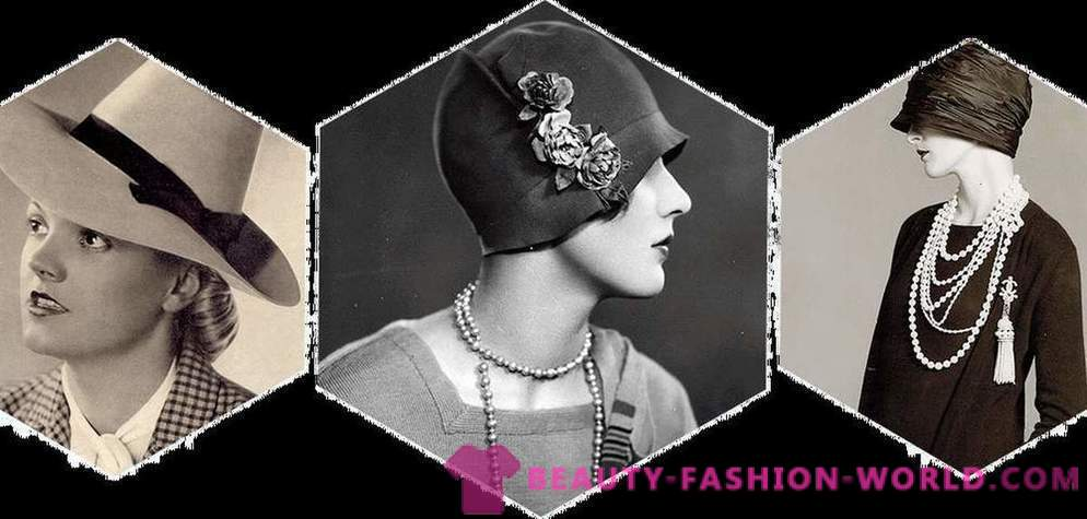 History trend: as hats became popular elements of style