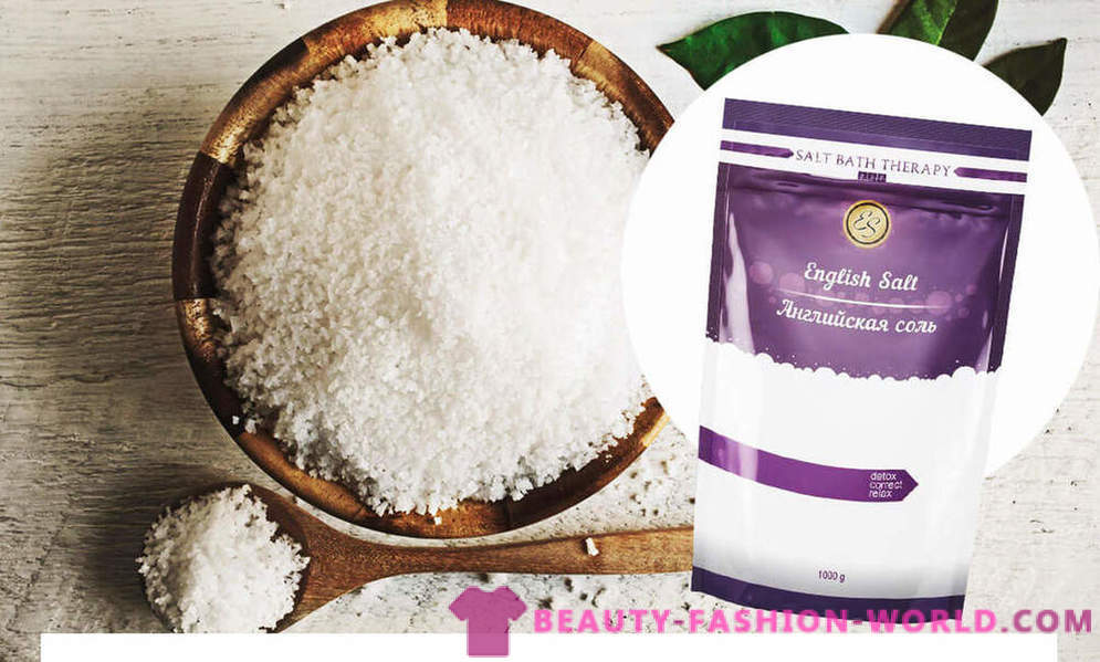 Epsom salts: a new trend in body care