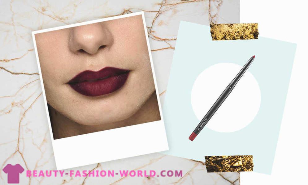 How to wear lipstick effect Ombré