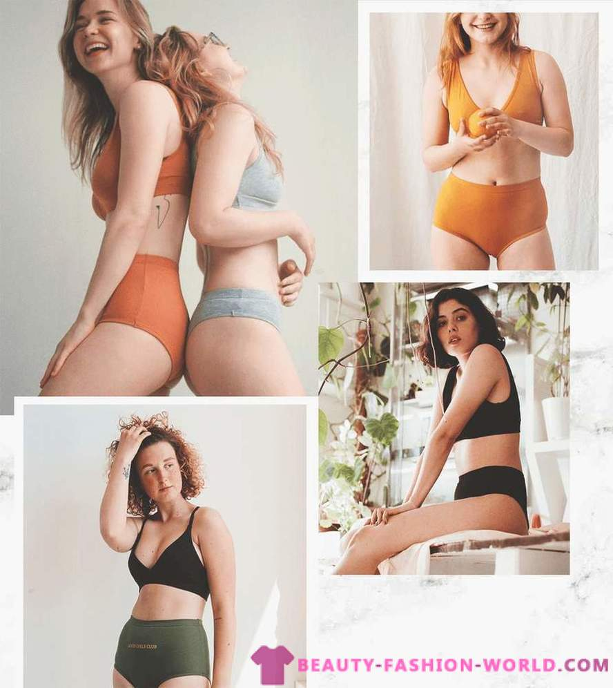With love to the body 8 brands laconic and comfortable underwear