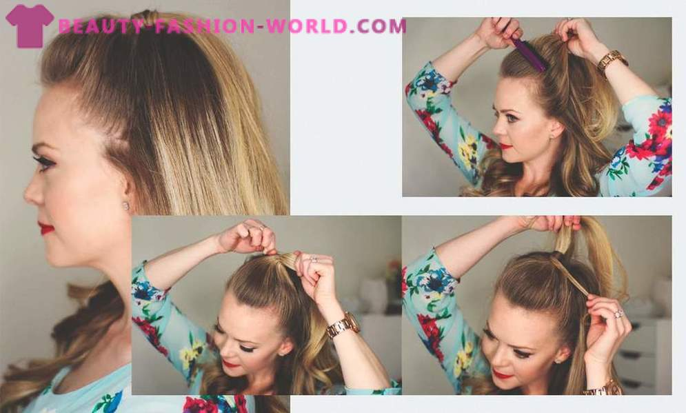 7 hairstyles for which you do not spend more than 2 minutes