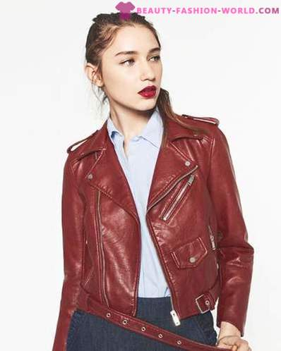 What to wear this fall or 5 trendy leather jackets