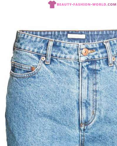 The latest innovation from H & M - jeans with original design