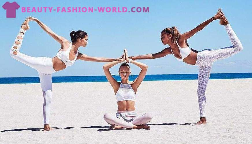 Trendy clothes for fitness