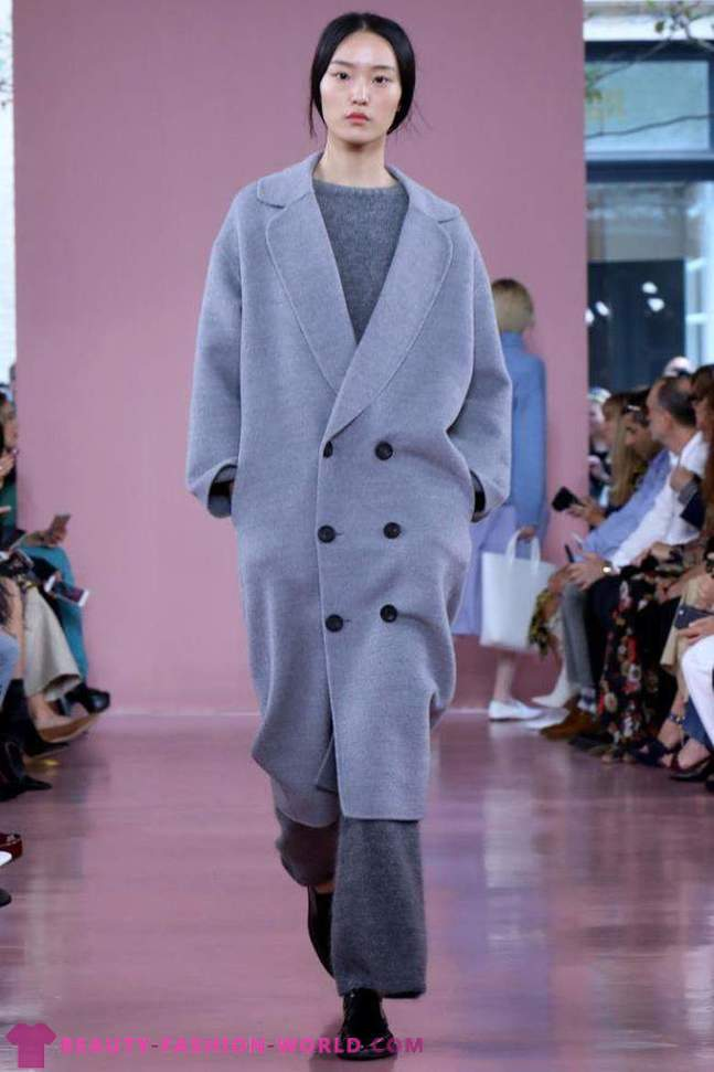 Women's fashion coat spring 2018 trends photo