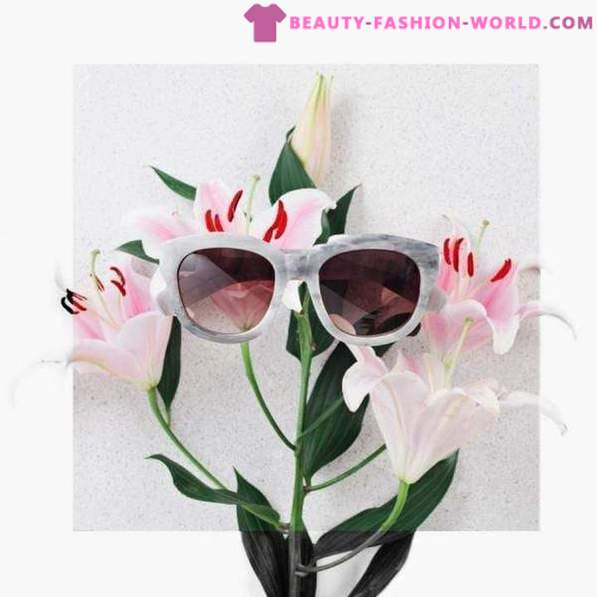 Choose stylish sunglasses for the season spring-summer 2018