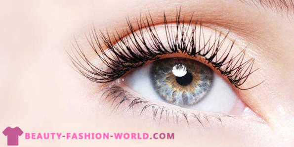 How to care for eyelashes at home