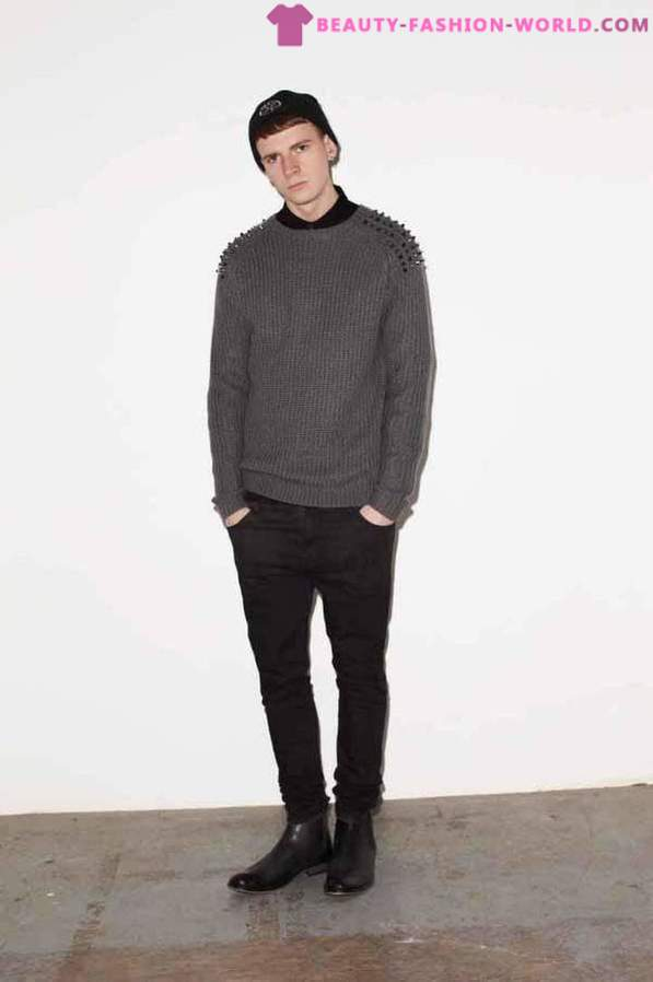 Fashionable men's clothing from 2013-2014 ASOS Fall-Winter