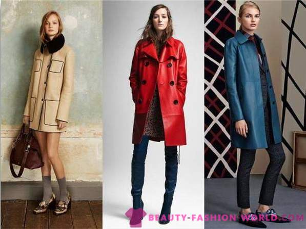 Fashionable outerwear for fall-winter 2016-2017