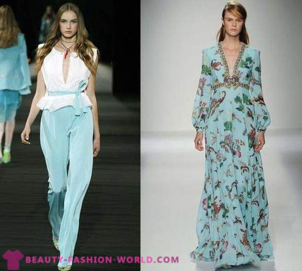 Trendy colors of spring-summer 2016
