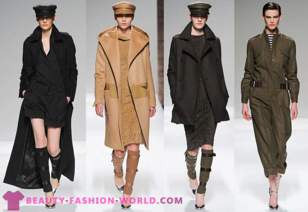 Fashion trends 2013 on the coat Autumn-Winter