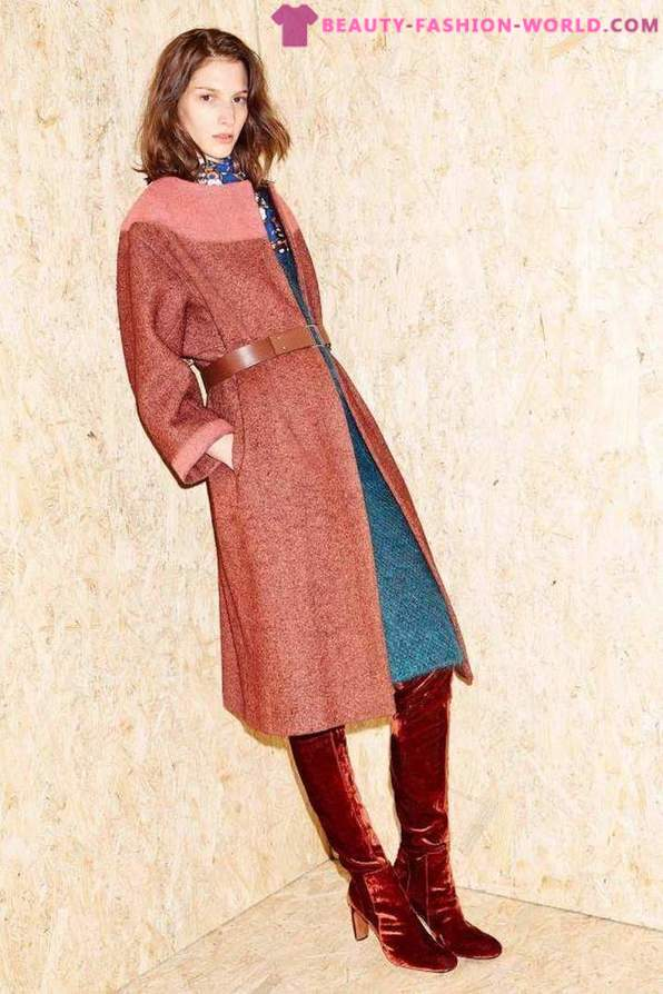 Coat with belt - one of the main trends of spring 2016