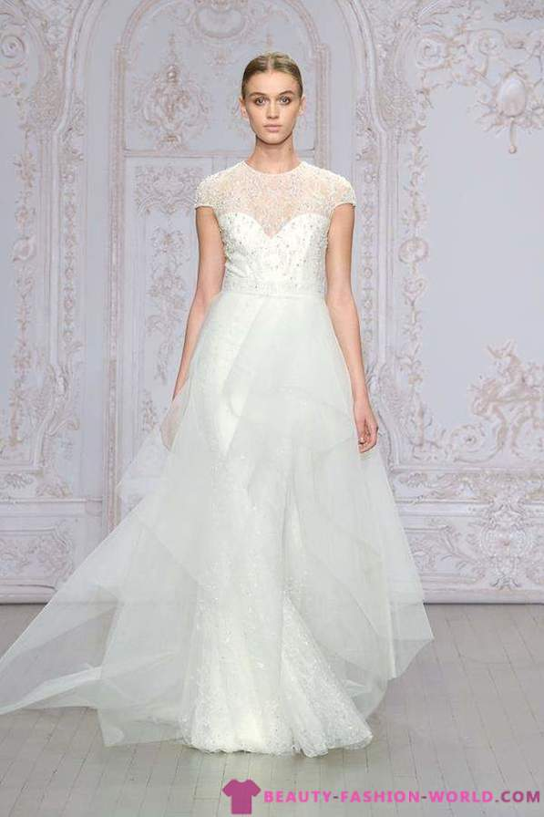Collection of wedding dresses by Monique Lhuillier 2016