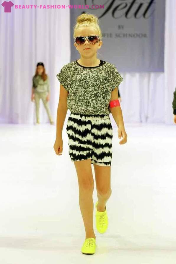 A collection of children's clothes from Petit by Sofie Schnoor Spring-Summer 2014