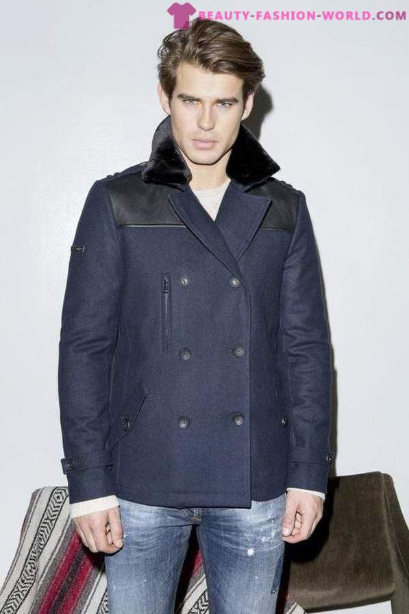 A collection of stylish menswear Fall Winter 2015-2016 by Guess