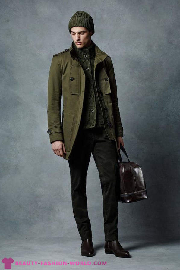 Menswear collection for fall-winter 2015-2016 by Michael Kors