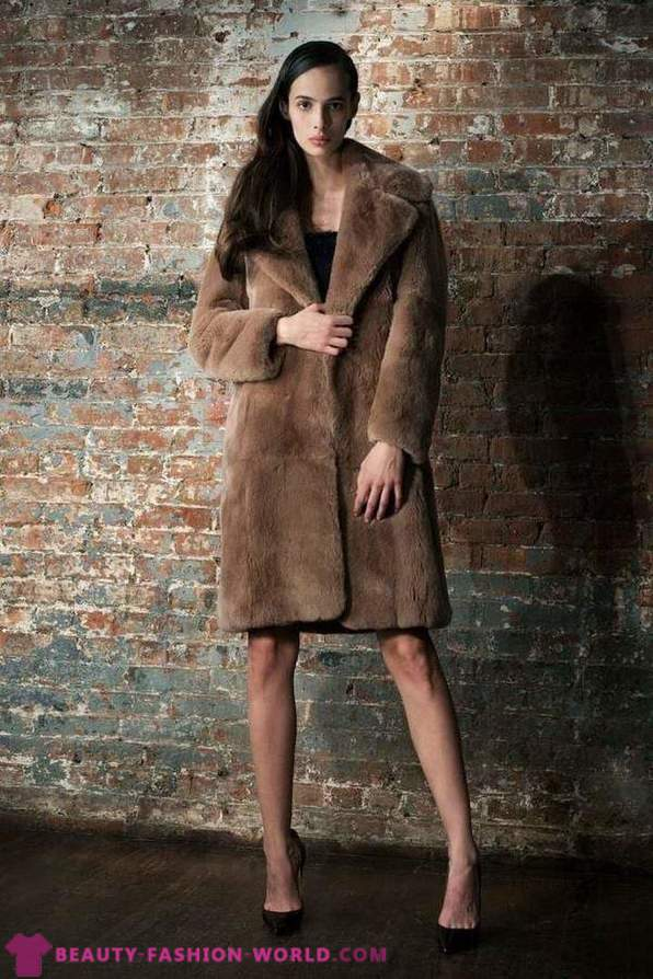 Stunning fur coats and fur coats 2015-2016