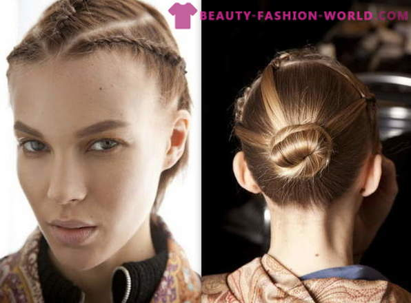 Ideas of hairstyles for every day Spring-Summer 2013