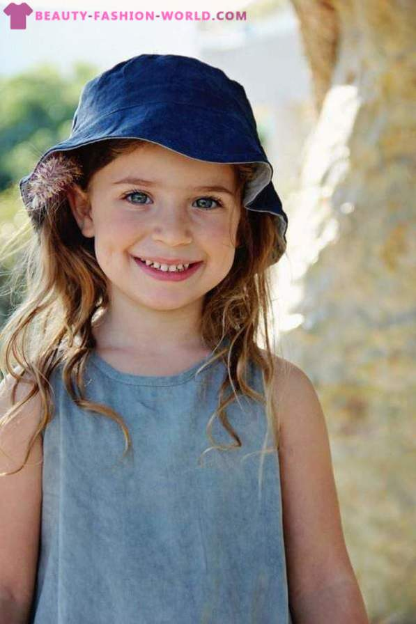 Children's clothing in the style of boho chic autumn -zima 2015-2016