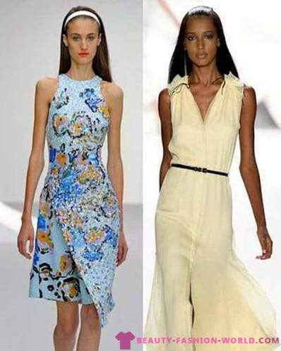 Trendy dresses for Spring-Summer 2013