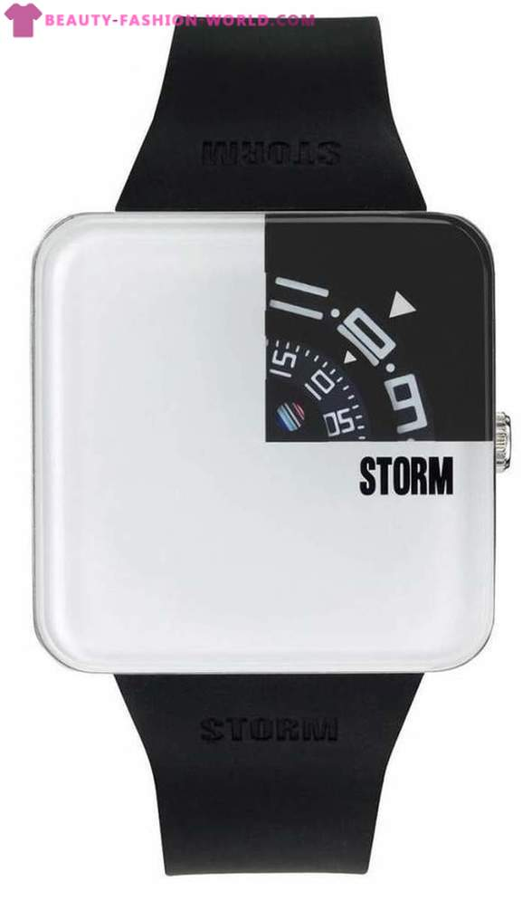 Collection watches STORM brand for business people and ladies