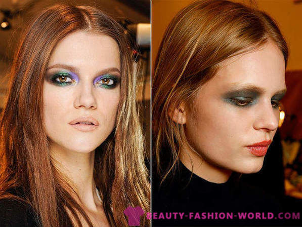 What makeup is suitable brown-eyed girls