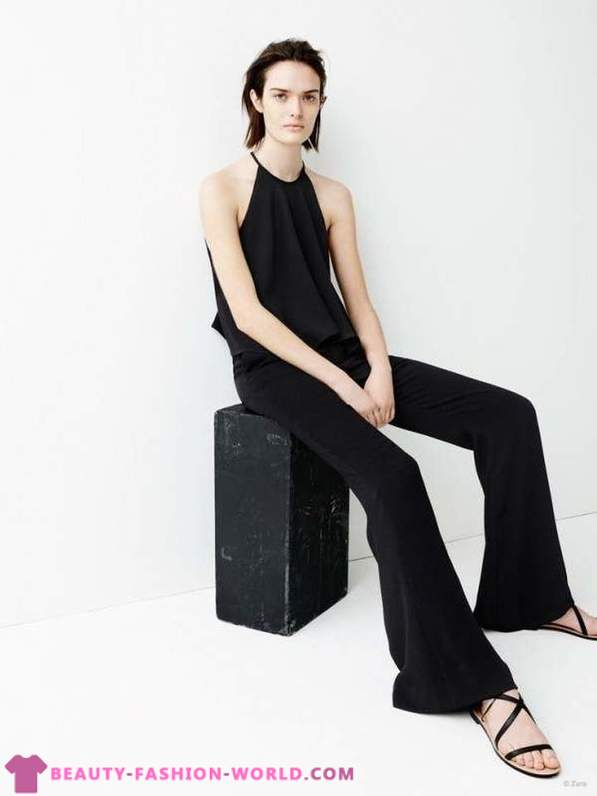 Zara lookbook for Spring 2015