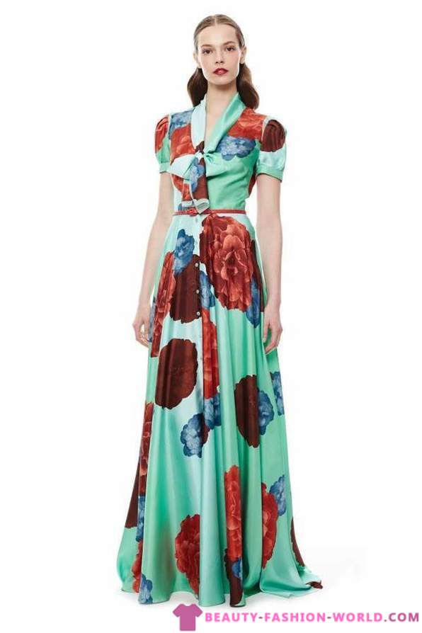 Long (Maxi) Dresses for Spring 2015