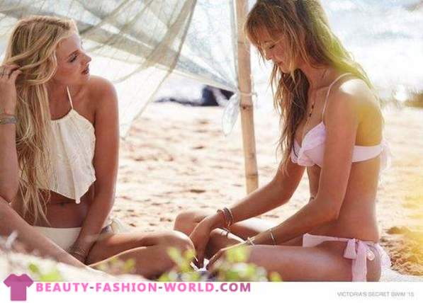 2015 swimwear catalog by brand Victoria's Secret