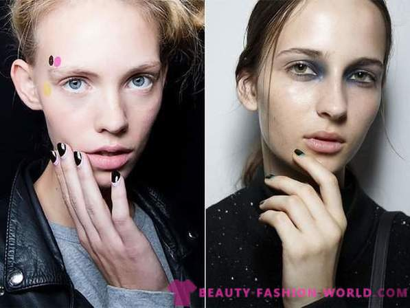Fashion trends in manicure 2015