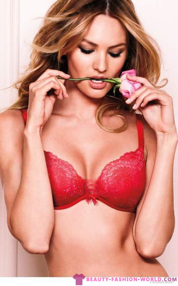 Collection of lingerie for Victoria's Secret Valentine's Day