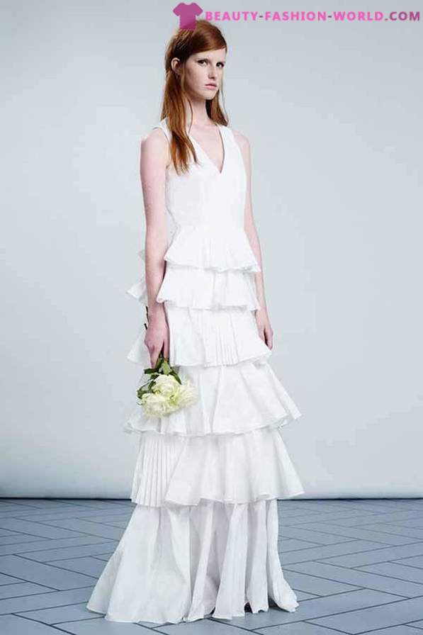 Collection of wedding dresses from Viktor & Rolf