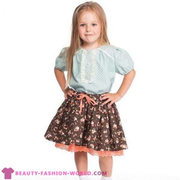 Beautiful children's clothes autumn-winter 2014-2015 from the brand Yume