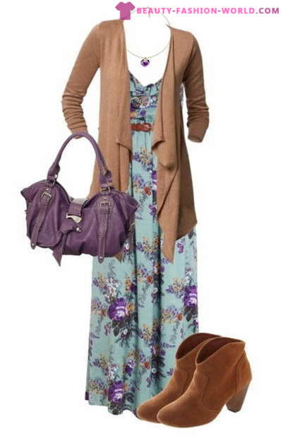 What shoes to wear a maxi dress in winter?