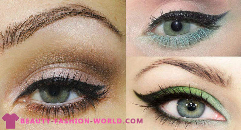 Beautiful makeup ideas for green eyes