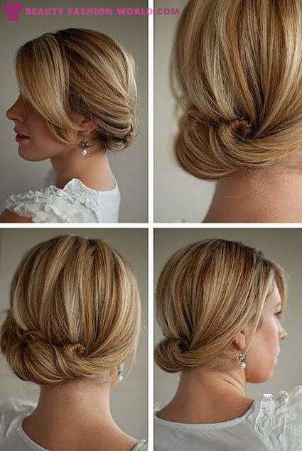 Actual hairstyles for the new year