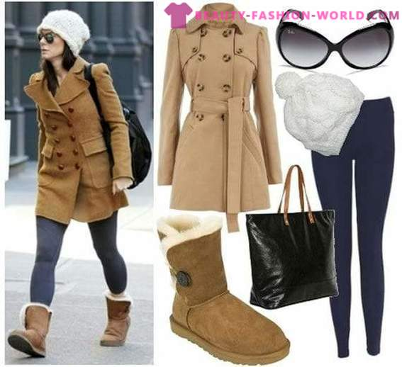 From what to wear ugg boots in the fall-winter 2014-2015