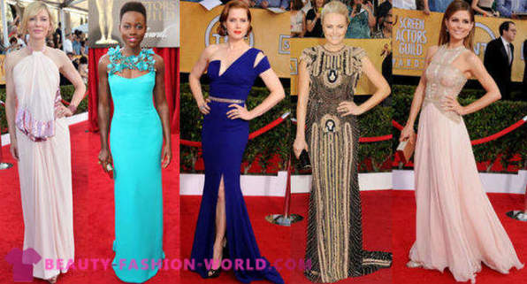 Top 10 dresses for the ceremony awards Screen Actors Guild Awards (SAG 2014)