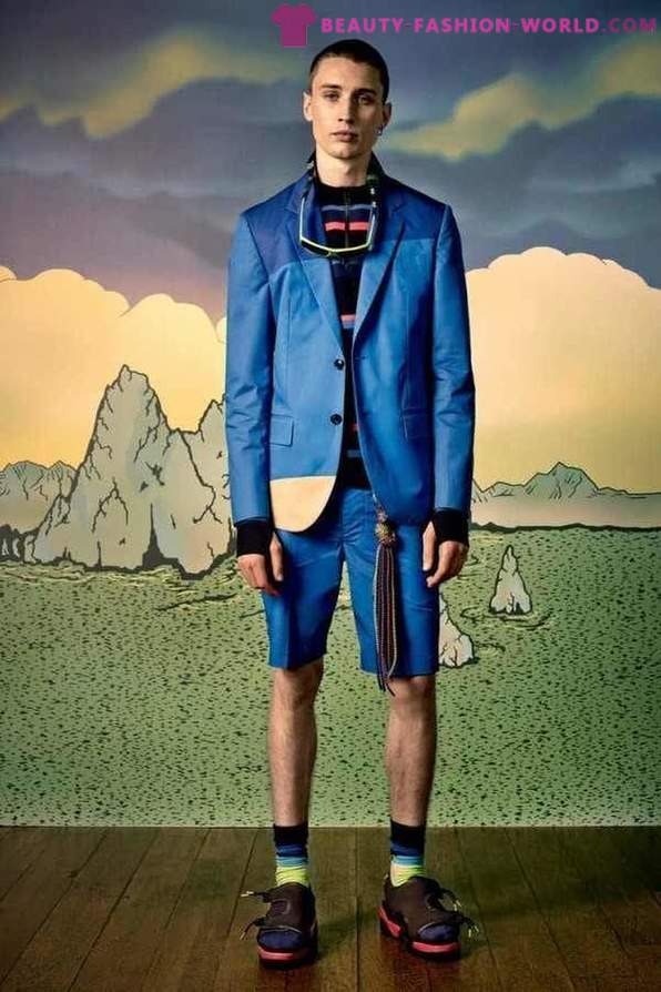 Trends in men's fashion from Marc by Marc Jacobs Spring 2015