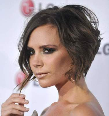 Top hairstyles inimitable Victoria Beckham