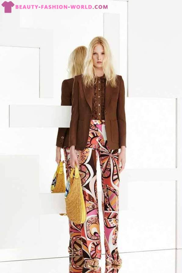 Emilio Pucci collection of women's clothes Resort 2015
